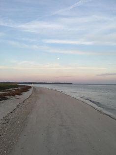 #moon #beach #hiltonhead #southcarolina