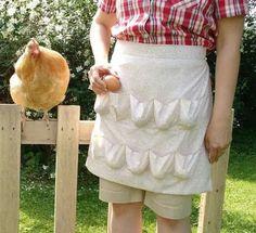 Egg apron