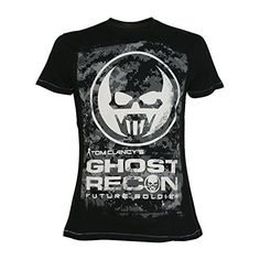 Ghost Recon White Logo Mens Black T-shirt (small) Ghost Recon Black Mens T-shirt with White Logo (Barcode EAN=8717973339878) http://www.MightGet.com/march-2017-1/ghost-recon-white-logo-mens-black-t-shirt-small-.asp