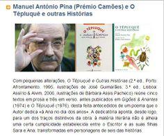 16 05 2011 «Manuel António Pina (Prémio Camões) e O Têpluquê e outras Histórias» por José António Gomes (carregar para ler