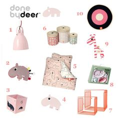 #DoneByDeer #Meisjes #shoppingpage - Minime.nl #babykamer #kinderkamer #interieur