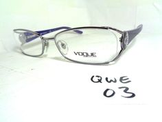New VOGUE Eyeglass Frame VO3726-B 612 Rectangular Purple (QWE-03) #Vogue Designer Eyeglasses, Glasses Case, Frames, Vogue, Purple, Best Deals, Ebay, Frame, Viola