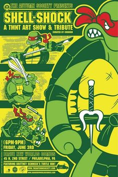 Teenage Mutant Ninja Turtles Art Show