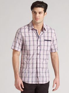 Donny Ware for @Saks Fifth Avenue (2010) #DonnyWare #Donny_Ware #model #shirt #purple