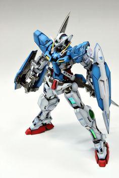 MG 1/100 GN-001 Gundam Exia – Painted Build   patrickgrade