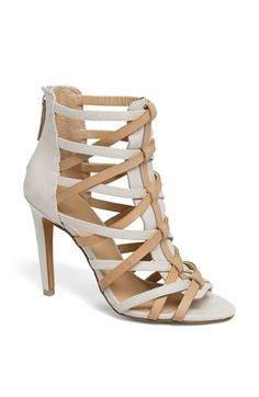 Joe's 'Evin' Caged Sandal available at #Nordstrom Yes, please!