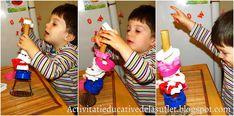 Activitati educative de la suflet la suflet: Dezvoltarea motricitatii fine pentru varsta 1 - 2 ani - idei de jocuri si activitati Montessori, Birthday Candles