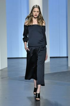 How To Pull Off Culottes: 5 Fall 2014 Ideas: Wear Them At Night