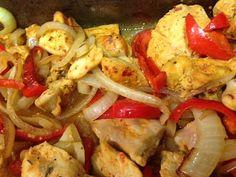 Spice and Yogurt marinated chicken