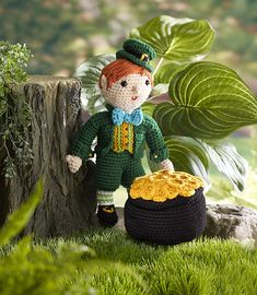 Ravelry: Kitrick the Leprechaun pattern by Kj Hay