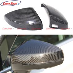 Replacement Carbon Fiber Rear Mirror Cover For Audi A3 S3 With Assit 2014-2016