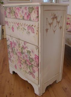 Chateau De Fleurs: Something New Out Of Something Old #pink #shabby #rose