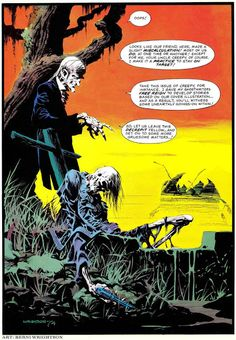 Pencil Ink: a blog featuring golden, silver and bronze age comic book art and artists: Creepy #64 - Bernie Wrightson art