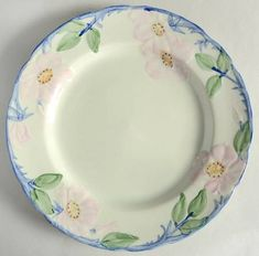"""Franciscan Earthenware MAYPOLE USA s Cereal Bowl 7/"""" x 1 1//2/"""""""