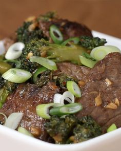 Lean Beef And Broccoli Stir-Fry