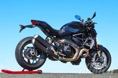 2016 Ducati Monster 1200 R static rear view
