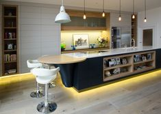 The lighting in this kitchen features led recessed downlights from choosing the kitchen light fixture depends on its design and also on the quality of lighting as the kitchen requires constant qualitative light aloadofball Gallery
