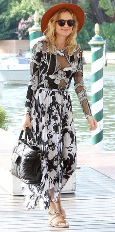 Look of the Day - September 05, 2015 - Celebrity Sightings Ahead Of The 72nd Venice Film Festival from InStyle.com