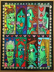 James Rizzi - Happy Together