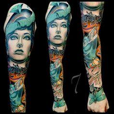 Done by Adriaan Machete, tattooist at Machete Death Gallery Tattoo Studio (Berlin), Germany TattooStage.com - Rate & review your tattoo artist. #tattoo #tattoos #ink