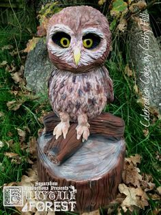 Fairytale Forest - Mooneye the Owl  by Celebration Cakes by Cathy Hill