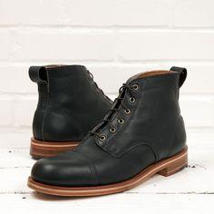 Muller Black Blucher Boot | HELM Boots