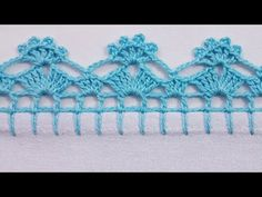 Angel Crochet Pattern Free, Crochet Edging Patterns, Crochet Headband Pattern, Crochet Borders, Crochet Squares, Free Crochet, Picot Crochet, Basic Embroidery Stitches, Crochet Bikini