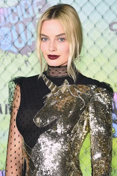 Margot Robbie's Unicorn Dress Was The Star Of The  --Be your own Whyld Girl with a wicked tee today! http://whyldgirl.com/tshirts