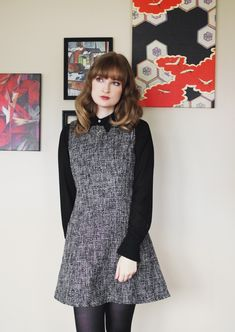 The Flying Clubhouse: Black is a Festive Color | winter outfit