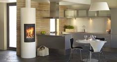 Ronda frittstående - Nordpeis,norpeis,stålpipe,brannmur,vedovner,peiser,ovn,peisovn,åpen peis,peisovner,ved,fyring,varme,ild,effekt,varmeeffekt,forbrenning,