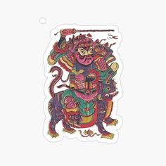 Chinese Prints, Decorate Notebook, Kids Stickers, Glossier Stickers, Cotton Tote Bags, My Arts, Vibrant, Art Prints, Printed