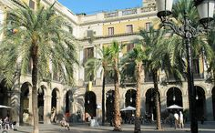 Placa Reial, Barcelona Spain. Kabul - best youth hostel in the world. Great place to stay; Beautiful.