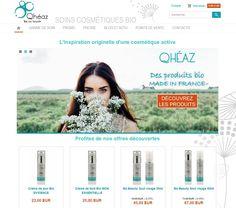 Découvrez le site e-commerce que l'on a créé pour notre client Qhéaz !