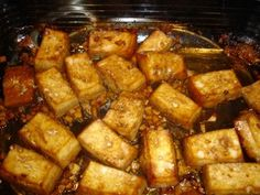 Sweet Ginger Tofu with Soba Noodles. One of my favorite tofu recipes. Easy, fast, flavorful, and I almost always have all the ingredients on hand.