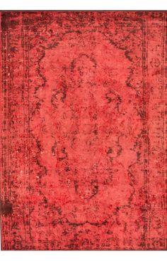 Reclaimed Vintage Sabiha Overdye Burnt Orange Rug
