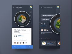 Mobile Ui Design, App Ui Design, Interface Design, User Interface, Food Design, Creative Design, Ui Design Patterns, Chart Design, App Design Inspiration