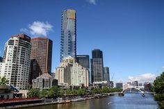 #OldPhotos #Melbourne #Australia #EurekaTower #YarraRiver #SkyScraper #Y2011