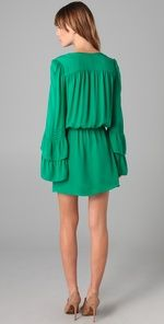 Great Parker double flared sleeve dress