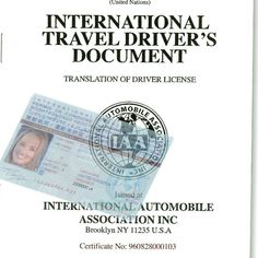 8 Best IDL Travel - international drivers license images in
