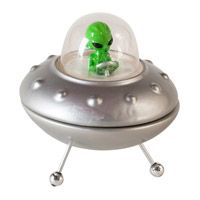 UFO Salt and Pepper Shakers! Love it! $15