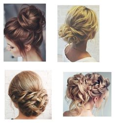 """""""Messy bun"""" by mullinsnicole on Polyvore featuring beauty"""