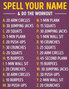 workout name challenge / workout name challenge ; workout name ; workout names exercises ; workout names ideas ; workout names team ; workout names exercises gym ; workout names funny ; workout name game Summer Body Workouts, Cheer Workouts, Movie Workouts, Morning Workouts, Core Challenge, Monthly Workout Challenge, Water Challenge, At Home Workout Plan, At Home Workouts