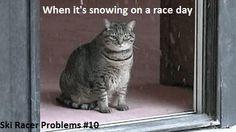 Ski racer probelms