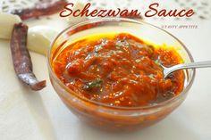 Tasty Appetite: SCHEZWAN SAUCE RECIPE / HOMEMADE SCHEZWAN SAUCE RE...