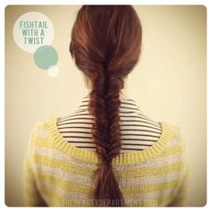 fishtail braid diy the beauty department