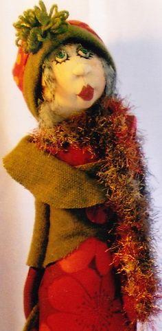 PATTERN City Girls elegant cloth doll PATTERN Jill by kate54