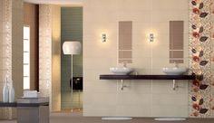 Ideas para decorar las paredes del baño con azulejos de diseño