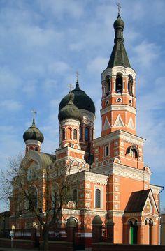 Golberg's Church in Old Kharkiv, Ukraine Copyright: Sergiy Lushpenko