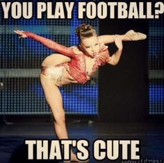 "This picture is for all the dancers who have been told that ""Dance is not a sport."""