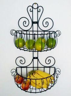 Fruteira Ornamental Dupla Mais